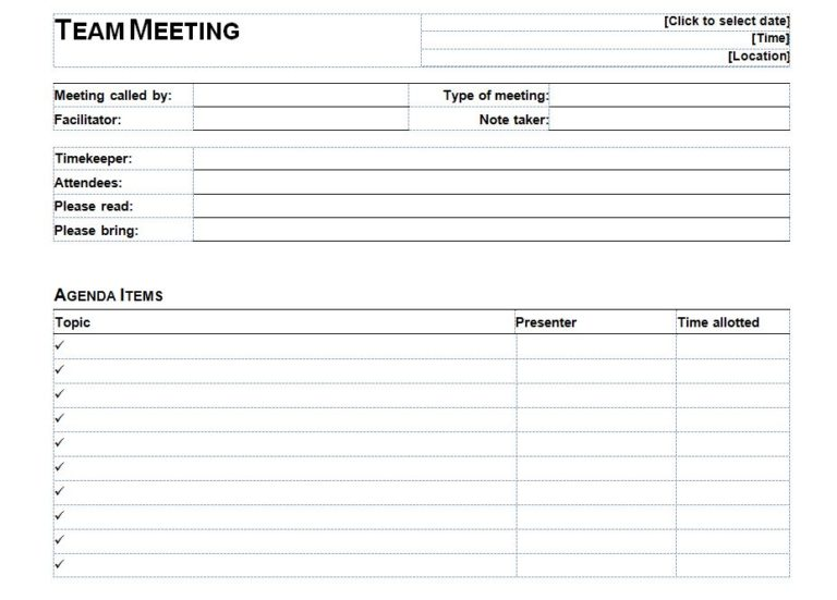 1 on 1 meeting template
