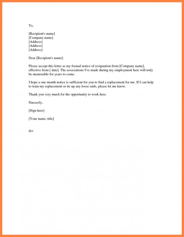 2 week notice letter template shatterlion info