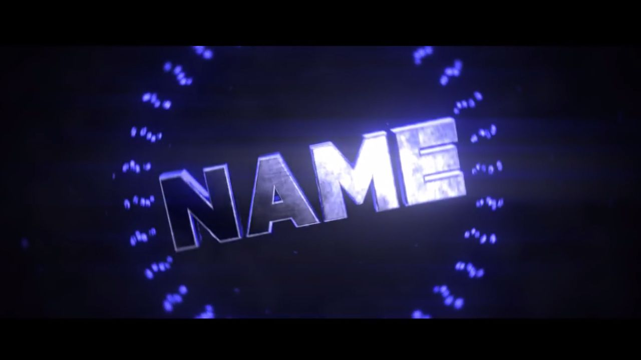 2d intro template