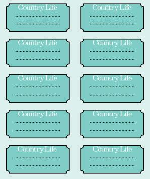 2x4 label template