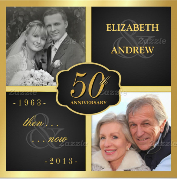 50th Wedding Anniversary Invitations Templates shatterlioninfo