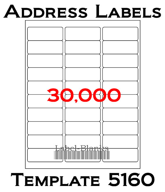 5160 label template