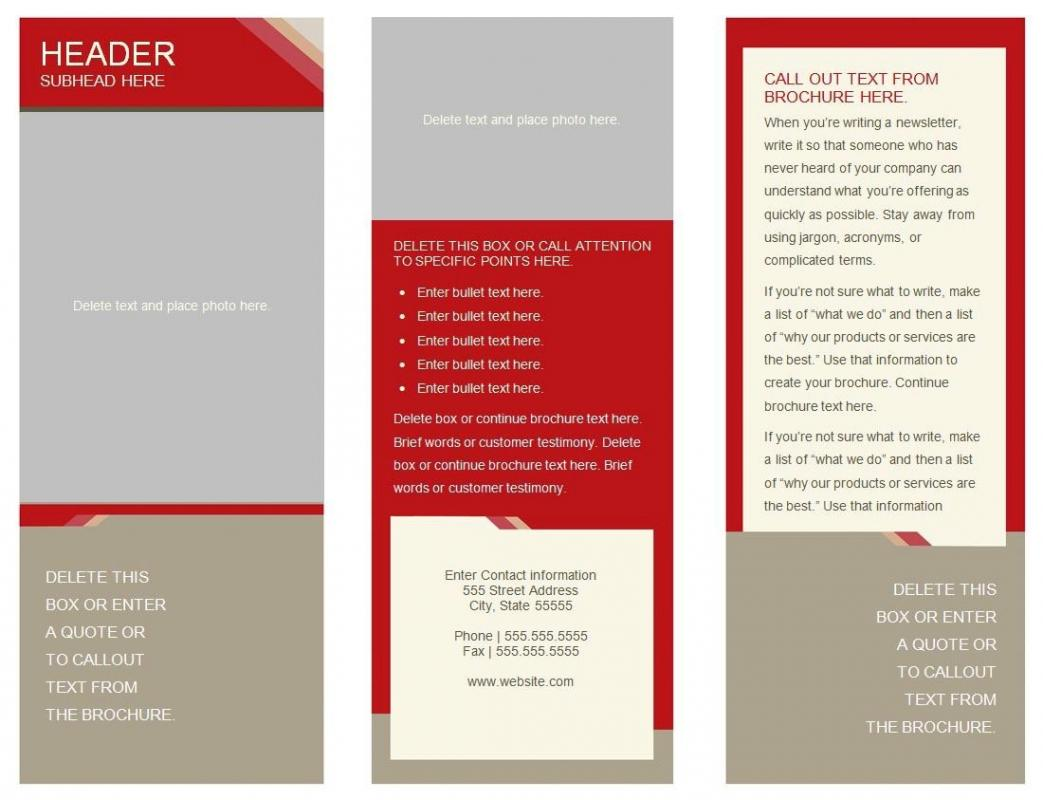 Panel Brochure Template Google Docs Shatterlioninfo - 6 panel brochure template