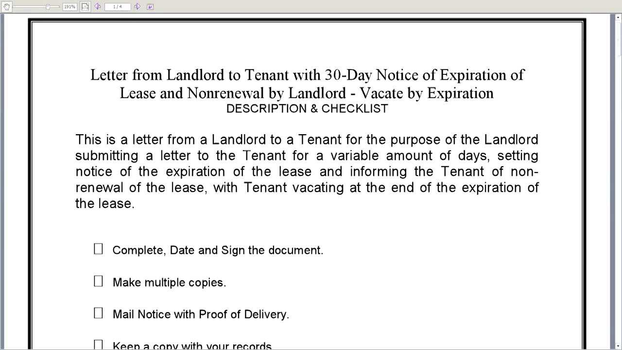 60 Day Notice Of Termination Of Tenancy Template Shatterlionfo