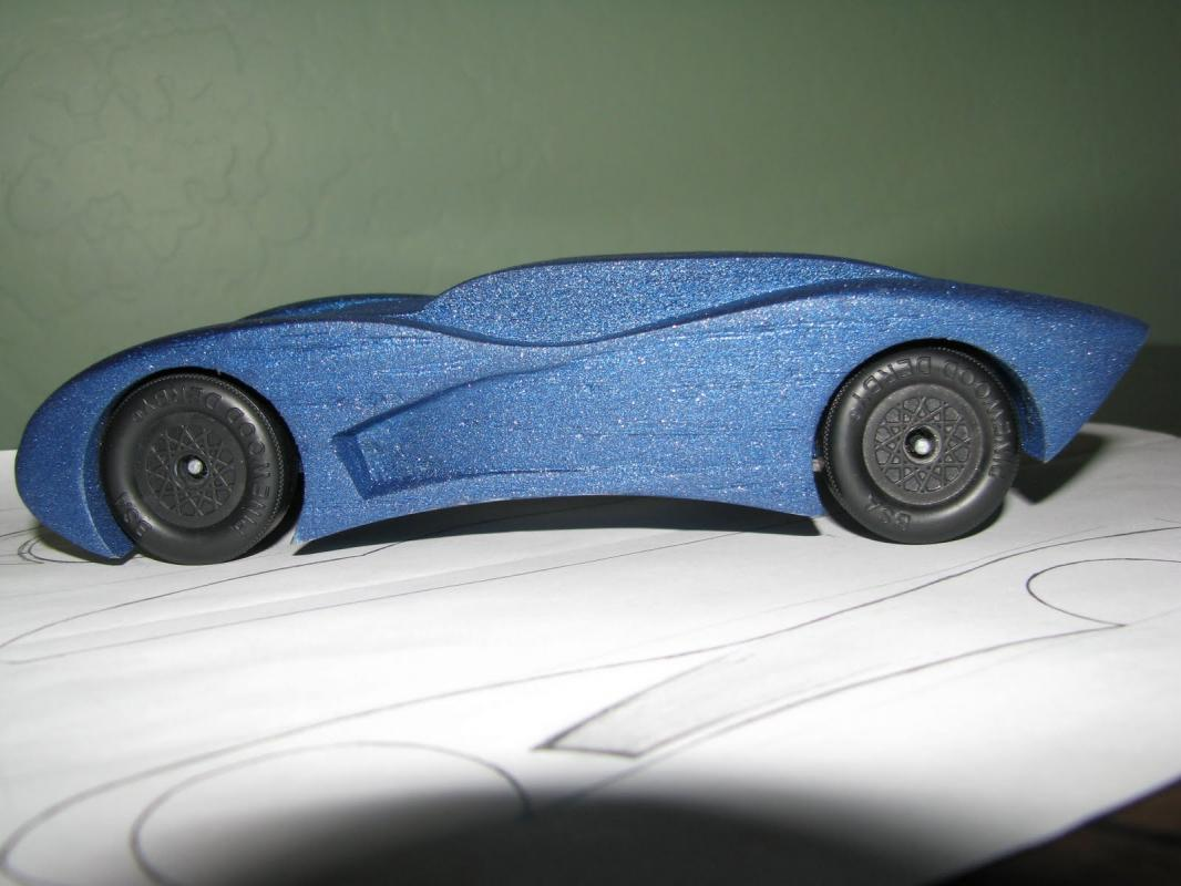 Aerodynamic pinewood derby car templates for Fastest pinewood derby car templates