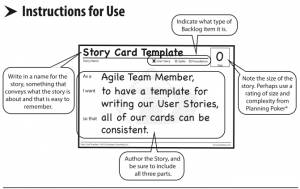 agile user story template