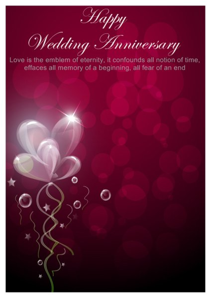 Anniversary Card Template | shatterlion.info