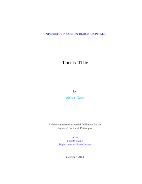 Master Thesis in Environmental Law - Stockholm University