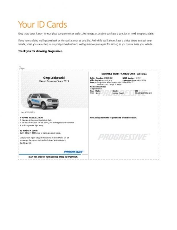 graphic relating to Printable Fake Insurance Cards identified as Motor vehicle Coverage Card Template