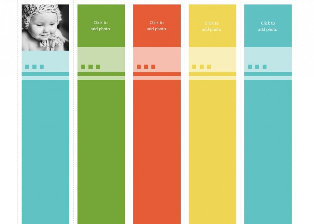 avery bookmark template
