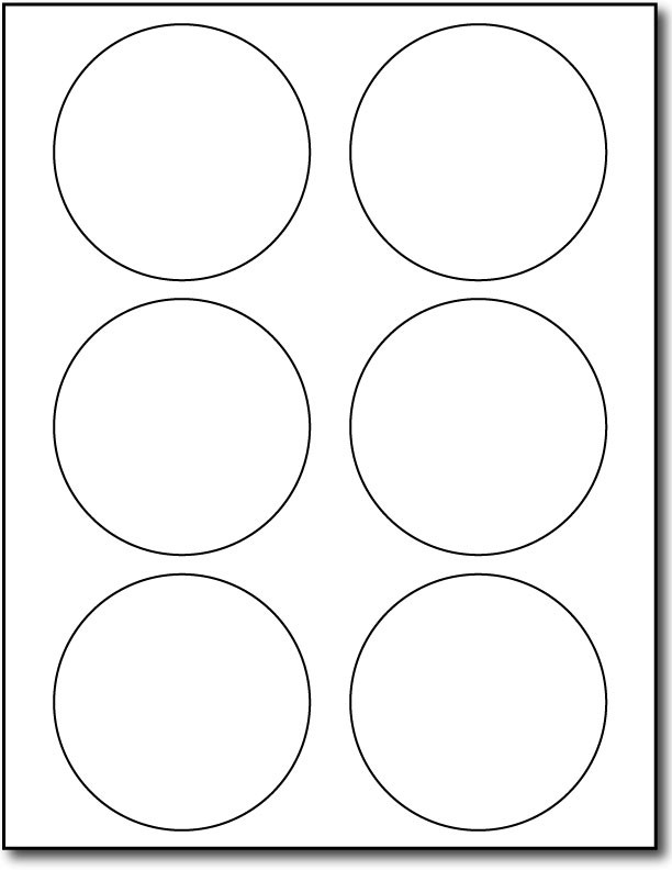 Avery round label template for Avery 2 round label template