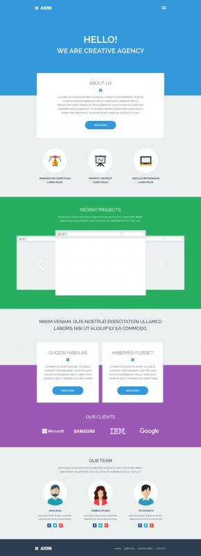 best free website templates