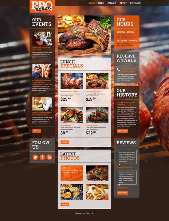 best web templates