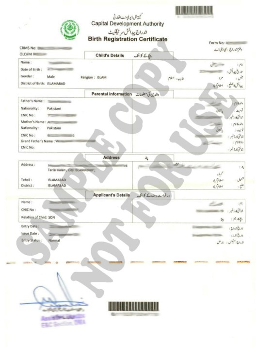 Birth Certificate Translation Template | shatterlion.info