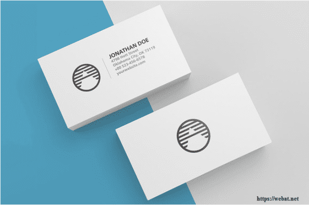 Blank Business Card Template Psd Shatterlioninfo - Blank business card template free