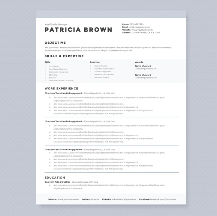 blog templates for word
