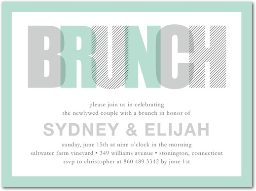 brunch invitation template