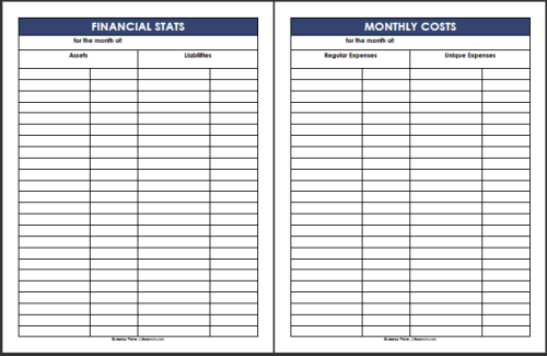 budget tracker excel template