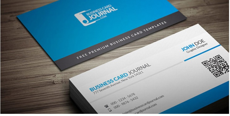 business card print template