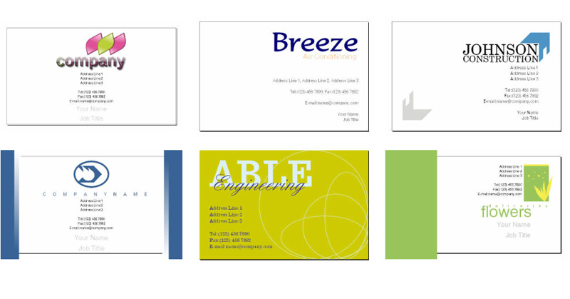 Business Card Template Free Download Choice Image Business Cards Ideas - Calling card template free download