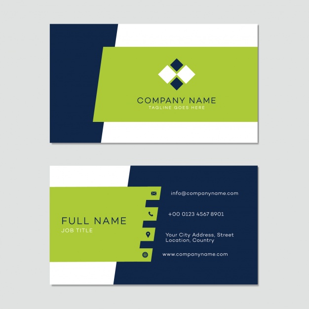 business card template free download
