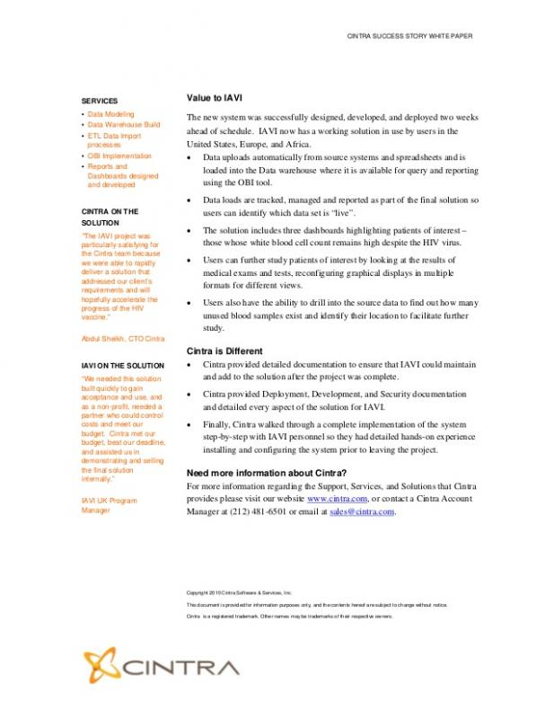 business case study template