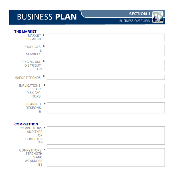 Buisness Plan Templates Insssrenterprisesco - Simple restaurant business plan template