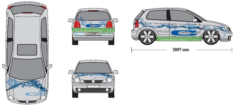 Car wrap templates for Car wrap design templates