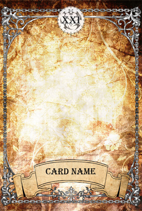 card template photoshop