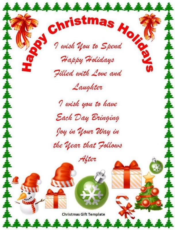Christmas Card Templates Phrase. Christmas Card Templates Word  Christmas Card Templates For Word