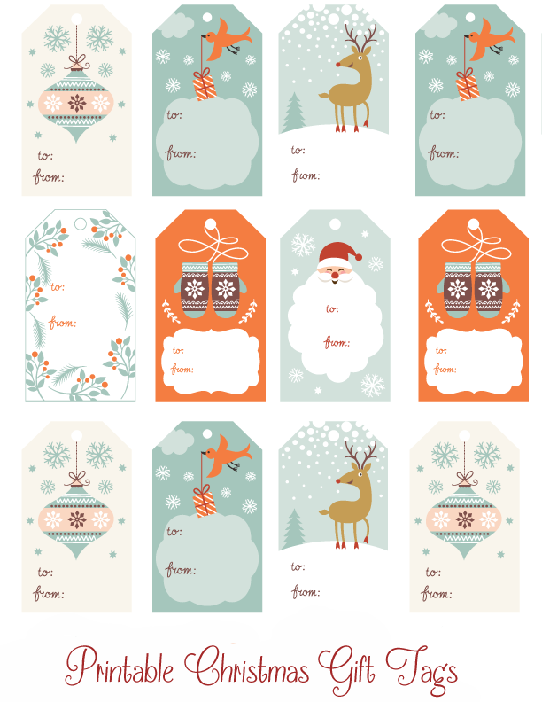 Christmas Labels Template | shatterlion.info