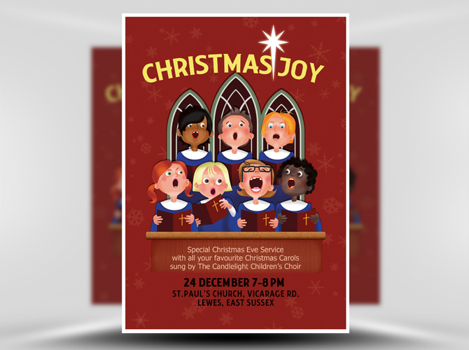 church flyer templates