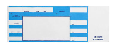 Lovely Concert Ticket Template Free