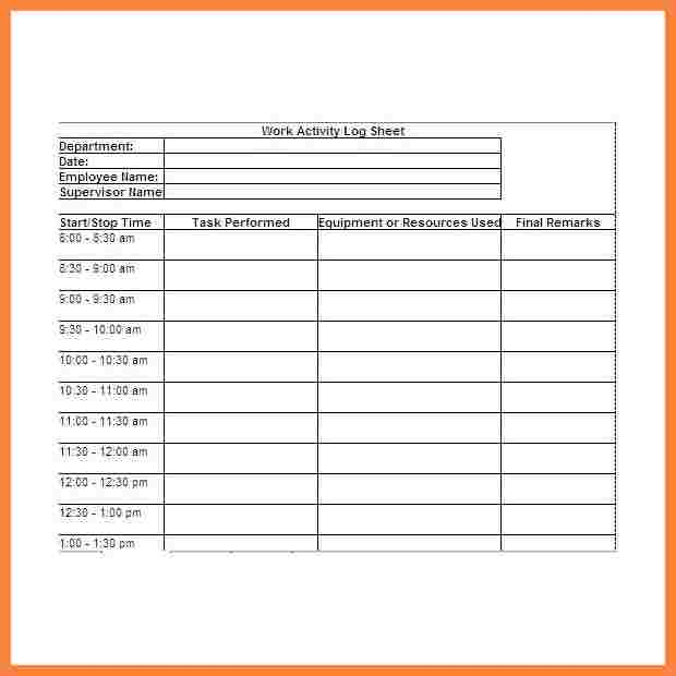 Building Daily Report Template