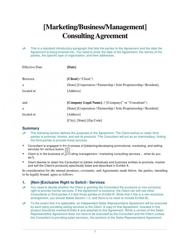 Amazing Consulting Contract Template Gallery  Best Resume Examples