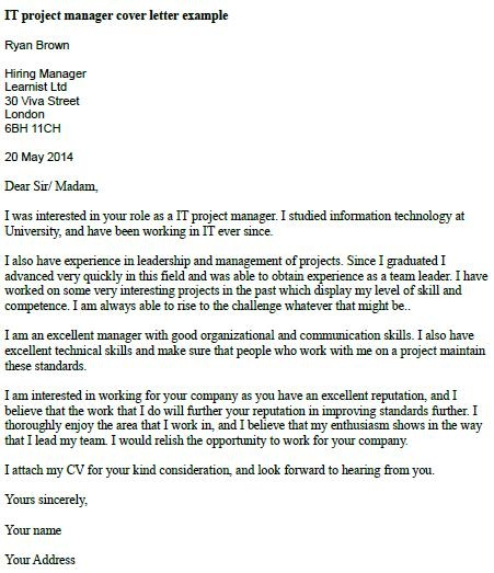 Cover Letter Template For Job Utility