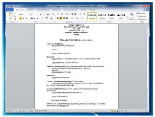 download word templates