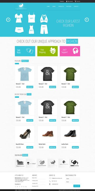 ecommerce site template
