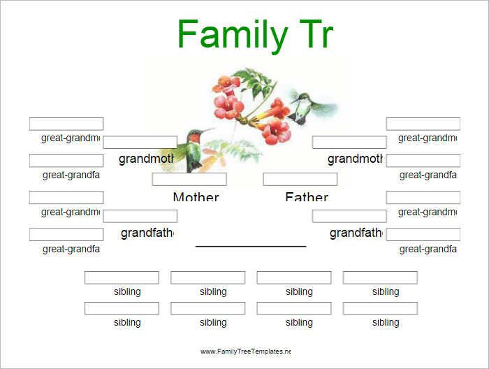 free editable family tree template - editable family tree template