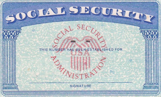 editable social security card template pdf