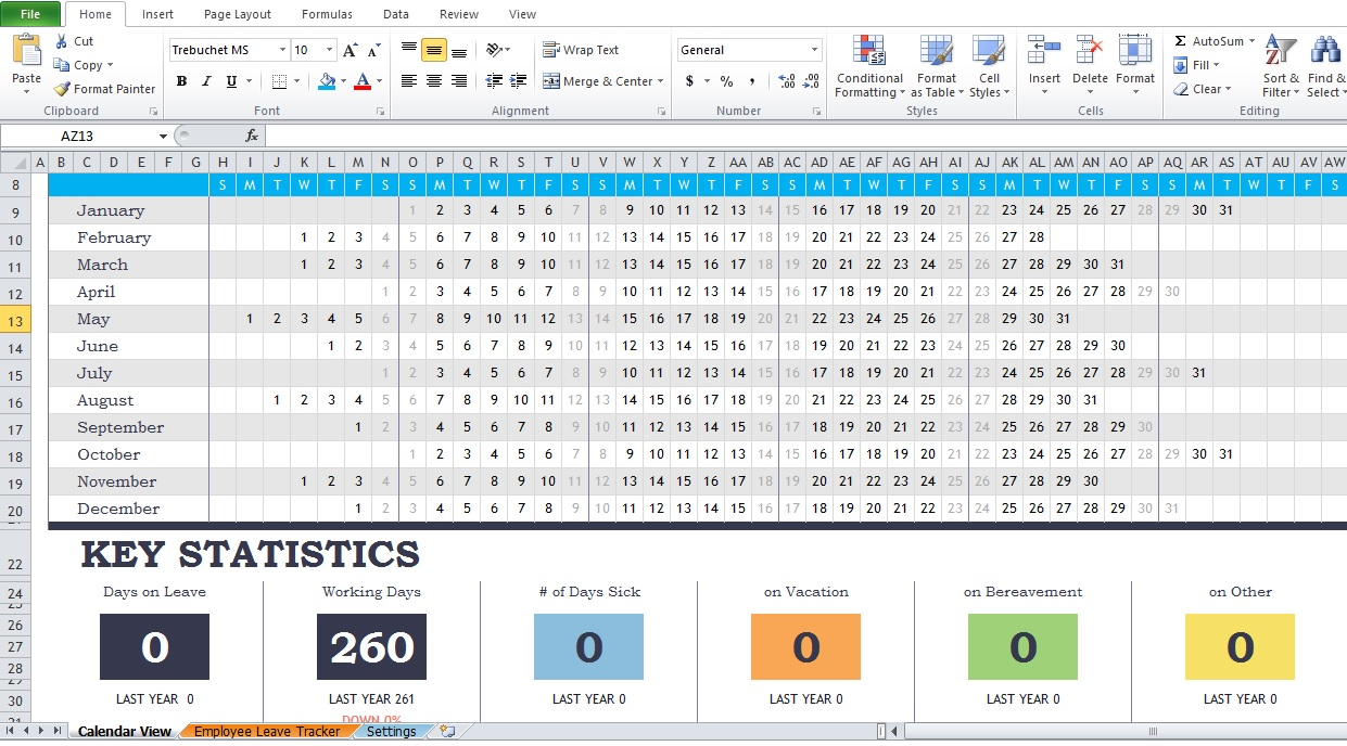 employee attendance tracker excel template muco tadkanews co
