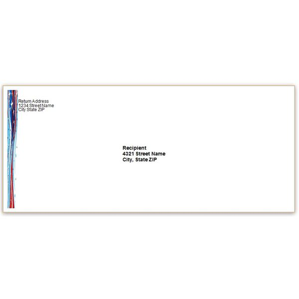 envelope template word