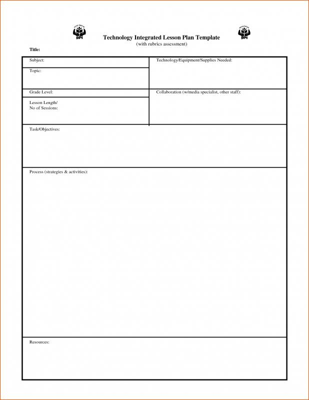 esol lesson plan template - esl lesson plan template