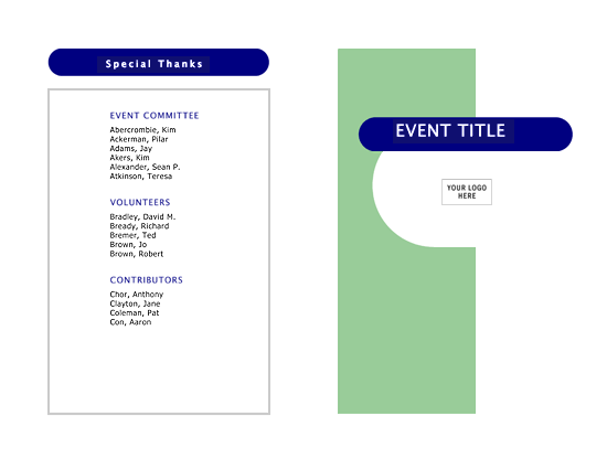 event program template word