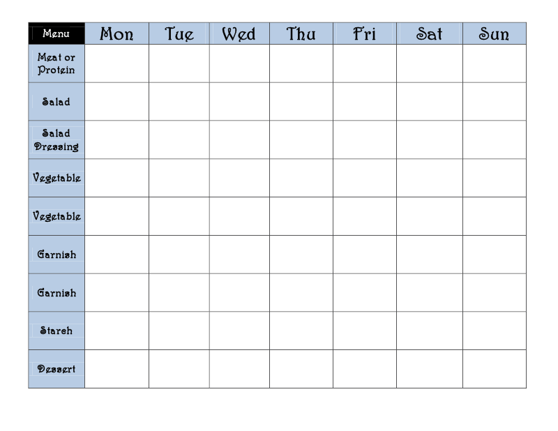 excel workout template