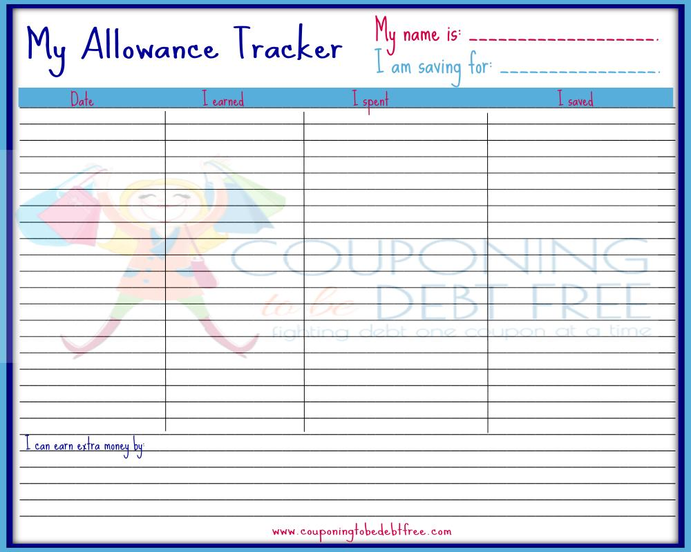 expense tracker template
