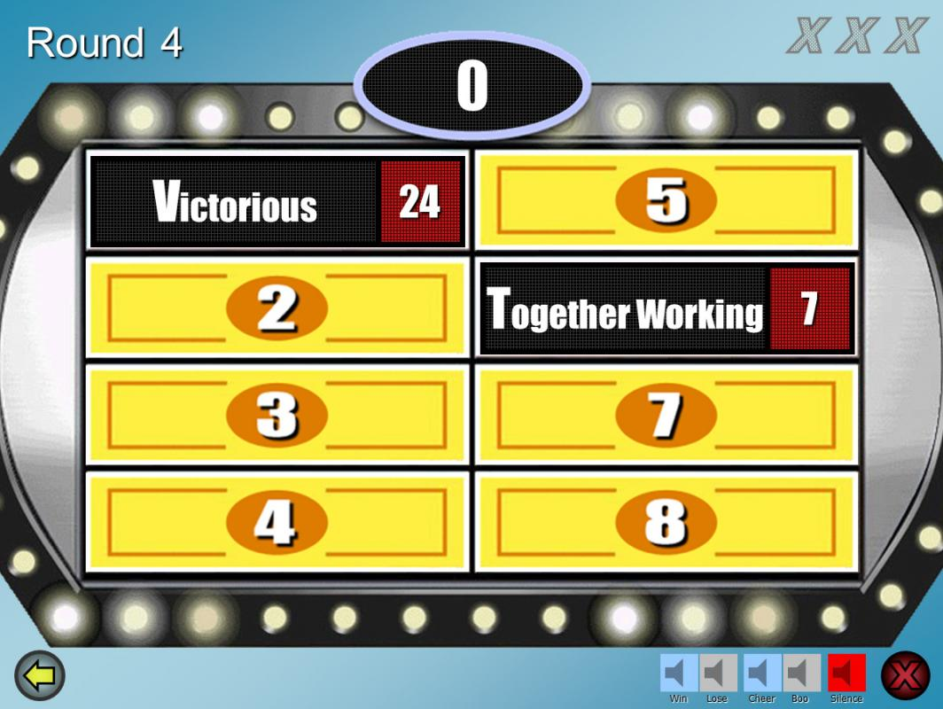 family feud powerpoint template