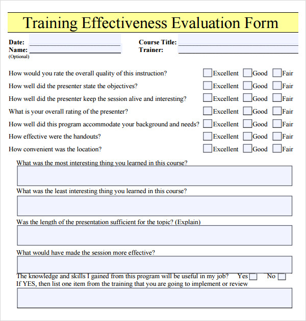 feedback form template
