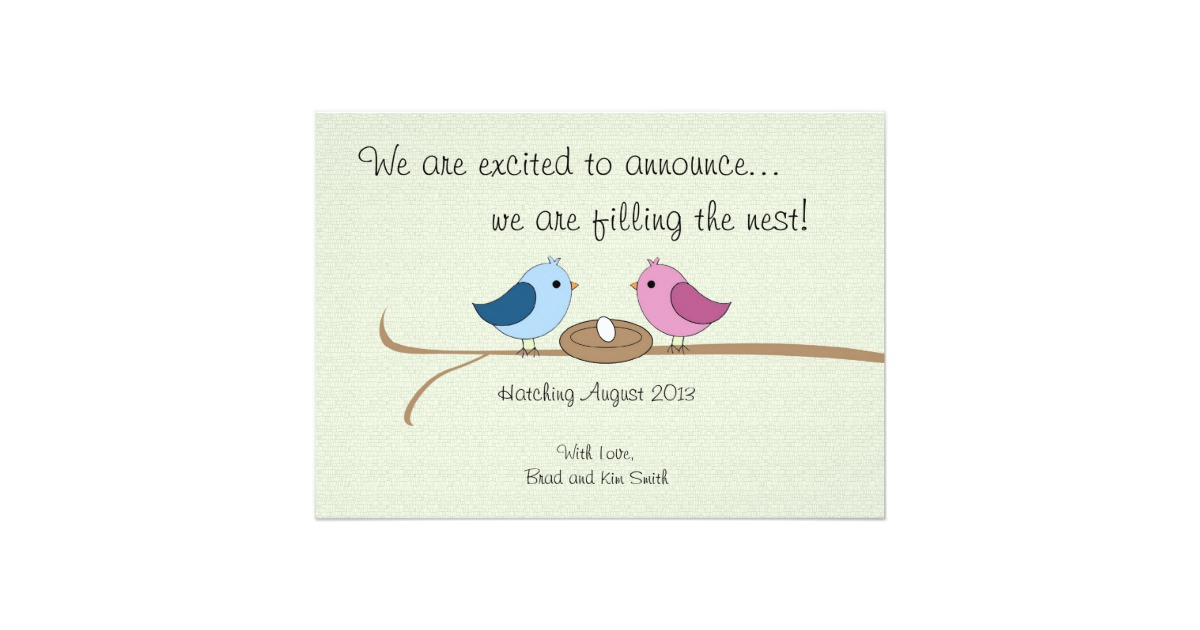 free online baby announcement templates - free baby announcement templates