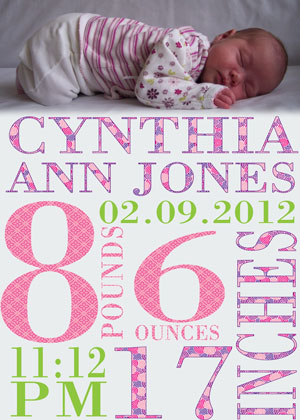 Free Baby Announcement Templates Shatterlioninfo - Birth announcement template free download